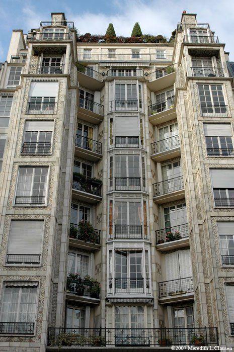 Edifício 25 bis rue Franklin, Auguste Perret, Paris, 1903