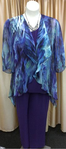 Pant Suit 30   Isabella Fashions   Mother of the bride dresses, plus sizes, and evening wear