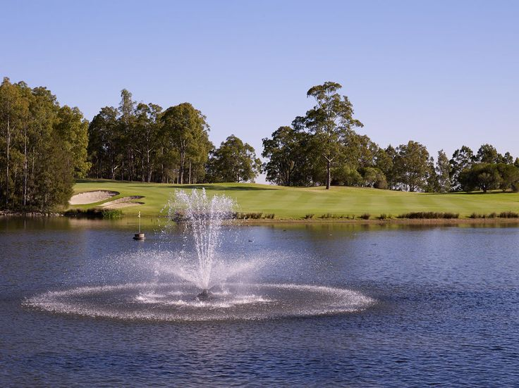 Steve Smyers Golf Course Architects | Cypress Lakes Golf & Country Club, Hunter Valley, Australia | Hole #14 | http://stevesmyers.com/ | #SmyersDesign  #GolfCourseDesign #GolfCourses #ssgca