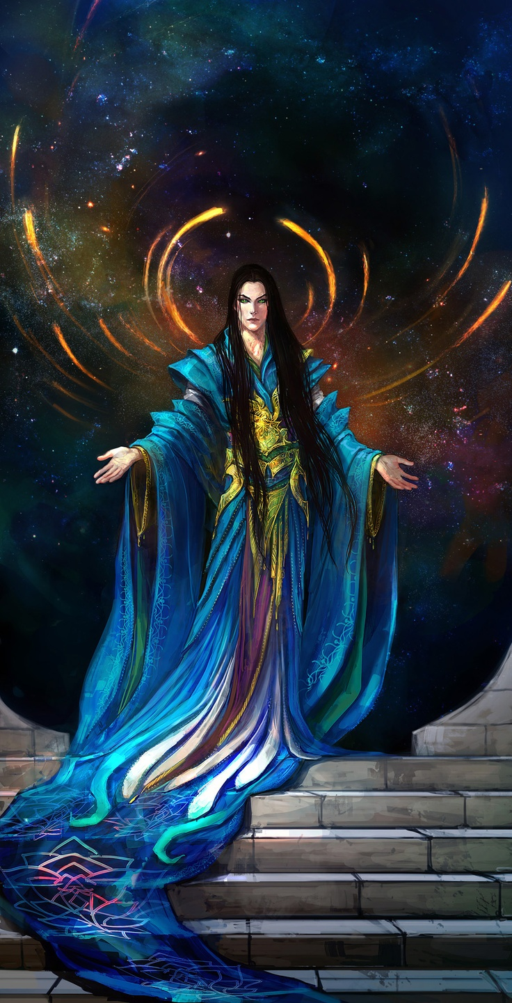 'In the end, he will be High King.'  Fëanor, New Valinor.   anndr.deviantart.com on @deviantART: