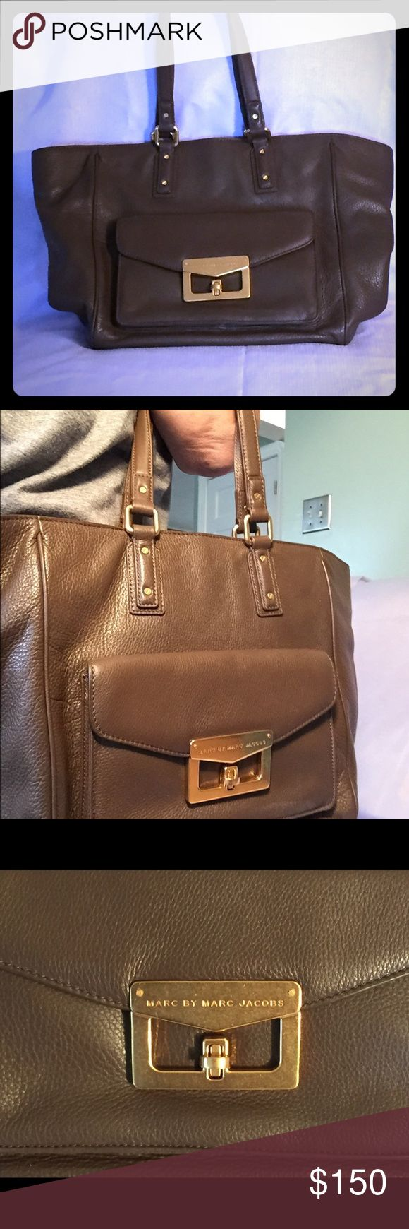 Marc Jacobs purse Like new but technically used purse..brown..excellent condition Marc by Marc Jacobs Bags Shoulder Bags