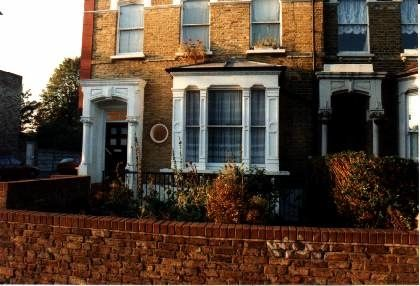 This is the house in Evering Road where Reggie Kray stabbed to death, Jack 'the Hat' McVitie
