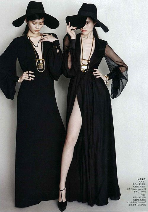 Ming & Sui photographed for Elle China March 2013                                                                                                                                                                                 More