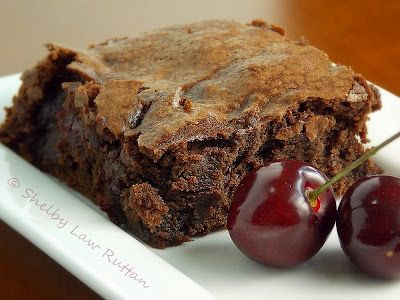 The Life & Loves of Grumpy's Honeybunch: Black Forest Brownies