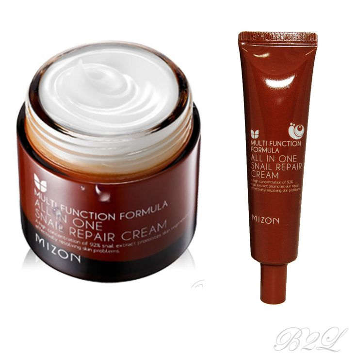 [MIZON] All In One Snail Repair Cream  35ml or 75ml / Contain Snail Filtrate 92% #Mizon