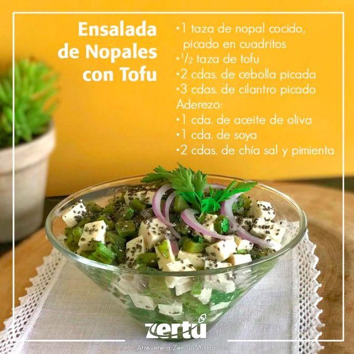 Tan solo corta todos los ingredientes, sazona y adereza. ¡Disfrútala! #NessZertú #foodie #foodporn #recetas #ayurveda #saludable #felicidad #zen #comesaludable #todonatural #zertumismo #comersano #dietasaludable