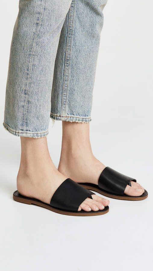 f4813cdd9f94 Madewell The Boardwalk Post Slide Sandals