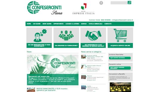 Abbiamo realizzato il nuovo sito web per Confesercenti Siena: mobile responsive e conforme agli standard W3C: leggi il progetto completo! --> http://www.edimedia-fi.it/progetti/confesercenti-siena-realizzazione-nuovo-sito