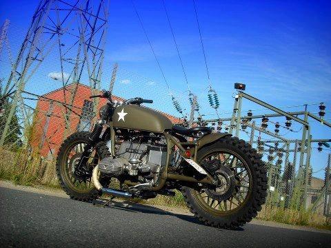 bmw - military custom | motorcycle | pinterest | bmw