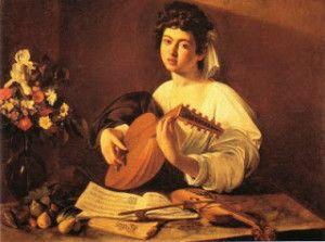 Caravaggio - A lantos