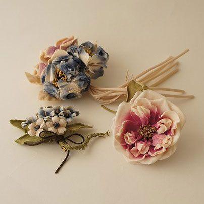 キャトル・セゾン スタッフレター: 夏のお出かけ~アトリエ染花のコサージュ~