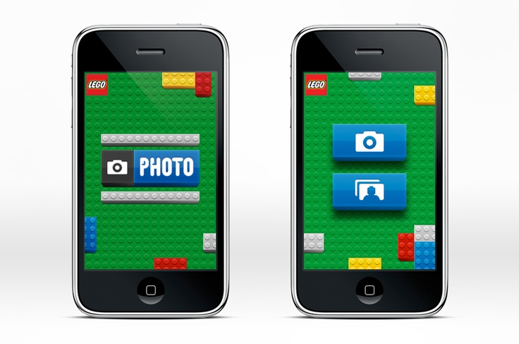 LEGO Photo iPhone App > STRUCK