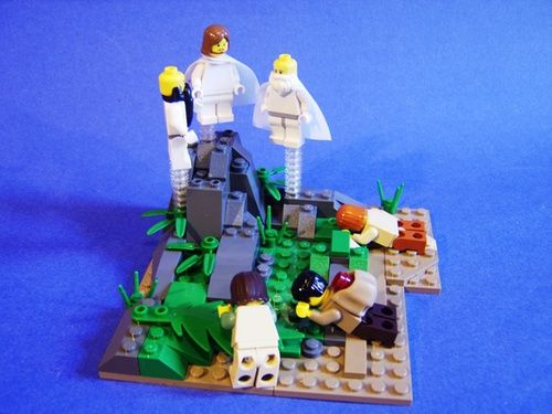 The Transfiguration of Jesus: A LEGO® creation by Cody G : MOCpages.com