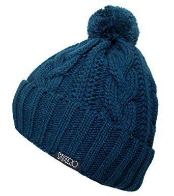 8a40dce7ab4 YUTRO Fashion Classic Cable Wool Knitted Winter Ski Beanie Hat Review