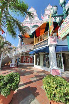 Royal Plaza a fun place to duty free shop in Aruba.