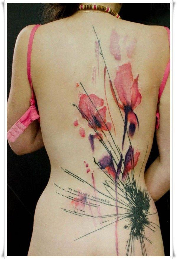 Wildflowers Tattoo Google Search Flower Backred