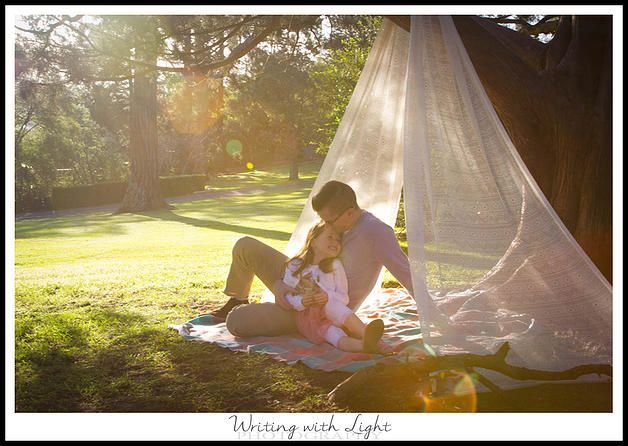 father and daughter picnic Narellan Sydney photography studio. Newborn photography | Changing of Seasons