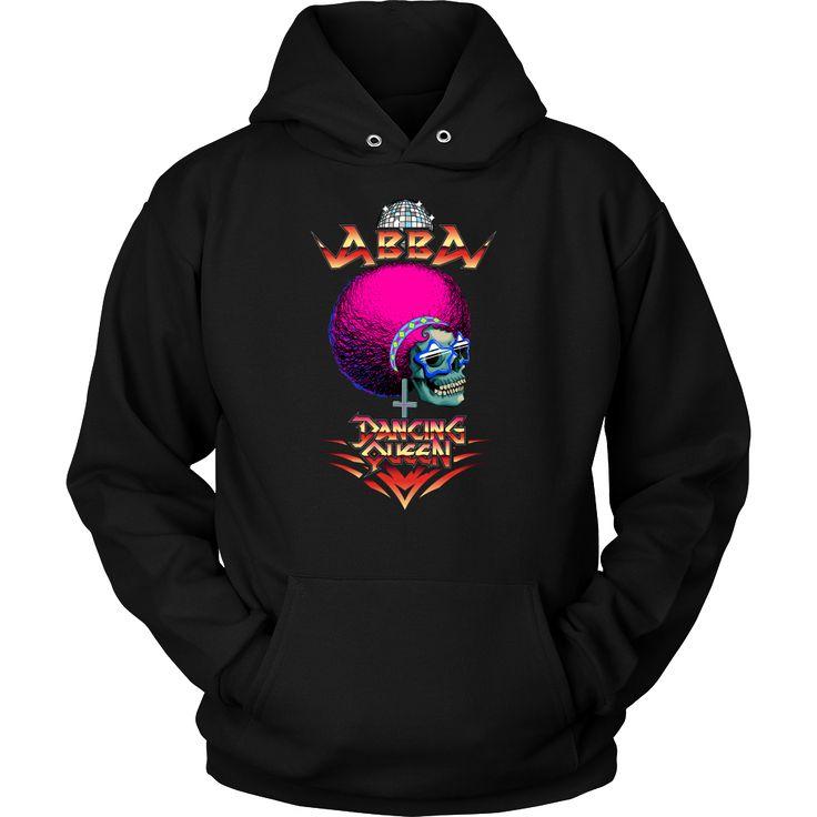 Abba - Dancing Queen metal hoodie USD 16.99 We ship worldwide! -------------------- metal head, black metal, pop music, fashion, sweat shirt