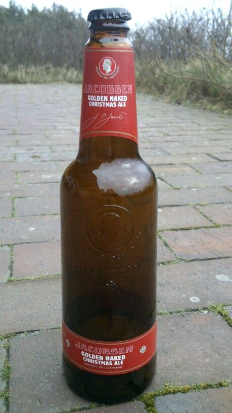 JACOBSEN Christmas Ale Golden Naked CARLSBERG BEER ALC 7.5% VOL