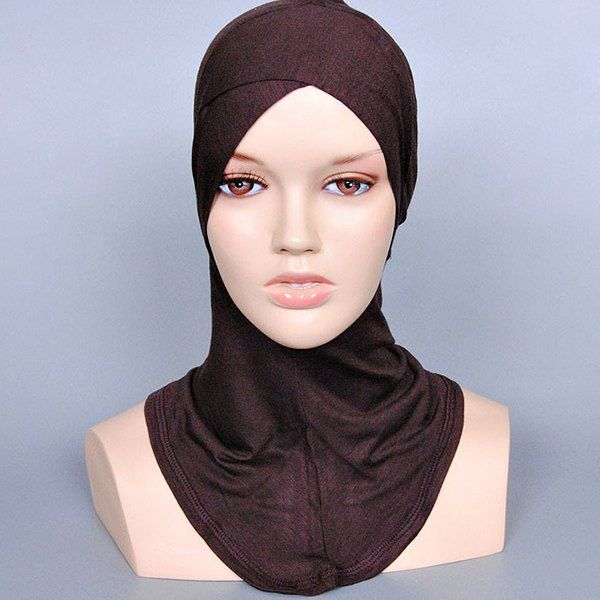 Simple Women's Various Color Islamic Full Cover Inner Hijab Caps Scarf #CLICK! #clothing, #shoes, #jewelry, #women, #men, #hats