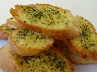 Pão de Alho no Forno                                                                                                                                                                                 Mais