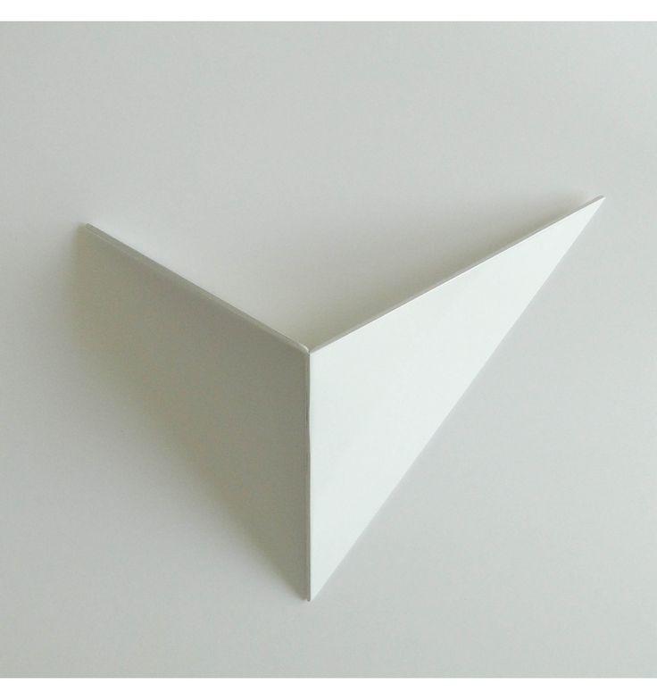 appliqué murale intérieur blanche | Applique murale LED design London - coloris blanc