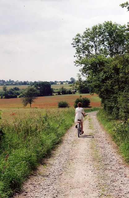 ballade en vélo dans la campagne