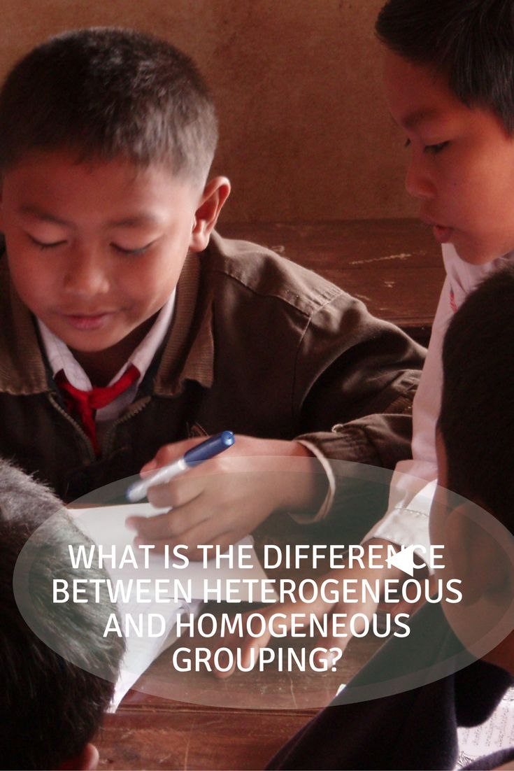 What is the Difference Between Heterogeneous and Homogeneous Grouping? via @https://www.pinterest.com/candacedavies1/
