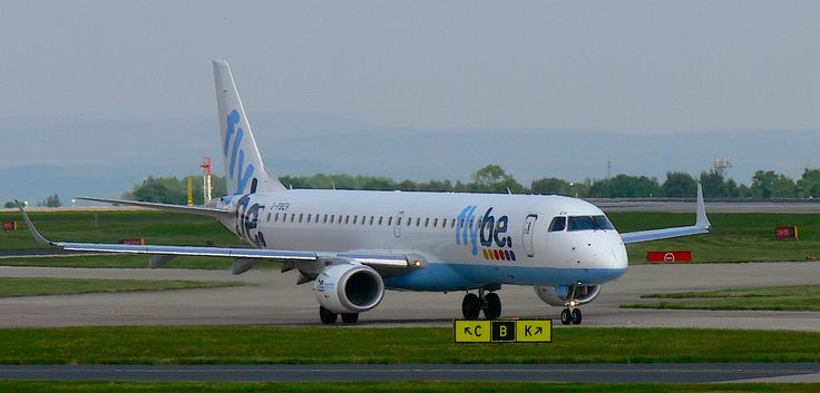 Background In High Quality - flybe embraer 195