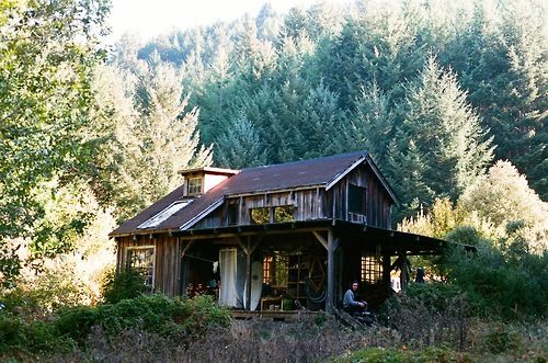 Off grid surf shack on the lost coast of california for The love shack cabin