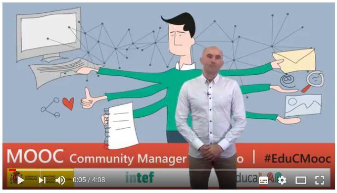 Vídeo 1.3. Necesidad de un Community Manager educativo - Ideas Clave #EduCMooc
