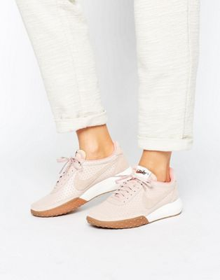 Nike – Roshe Waffle Racer – Hochwertige Turnschuhe in Rosa