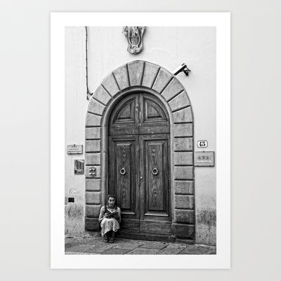 The Tourist Art Print by marialivia16 - $14.04