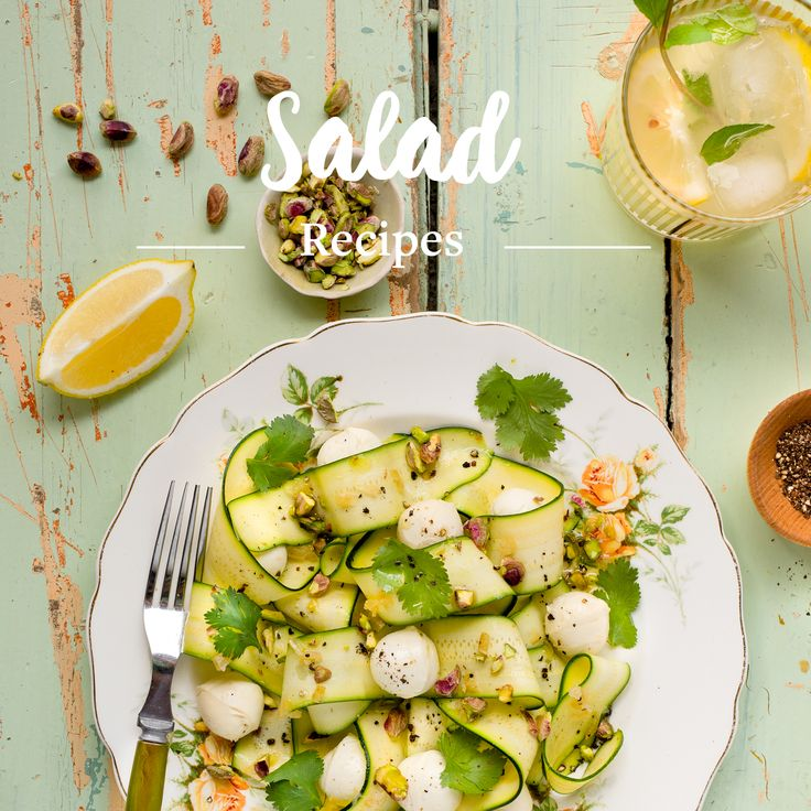Salads aren't just for summer. Discover the best recipe ideas for fresh, colourful and flavourful salads to create simple, healthy meals all year long!