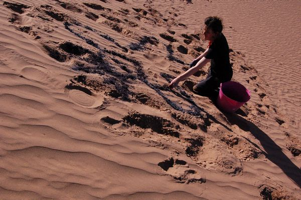 Lines in the sand | Visual Art Research