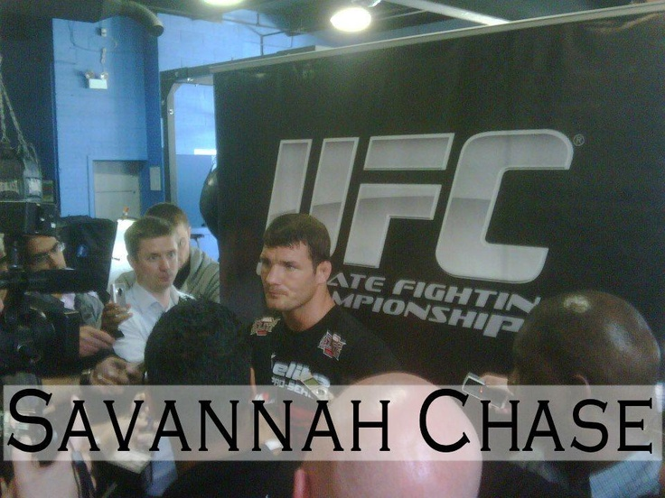 Michael Bisping at UFC 152 event