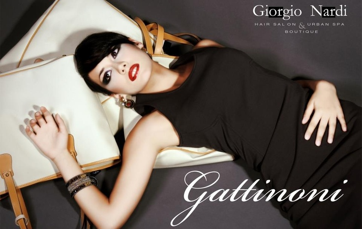 Commercial for Giorgio Nardi Boutique Gattinoni. Model: Erika D'Ambrosio Hairstyle: Giorgio e Gian Marco Nardi. Make Up: Arianna Di Bernardo. #fashion  #model #photography, #fashionphotographer #fashionphotography #model