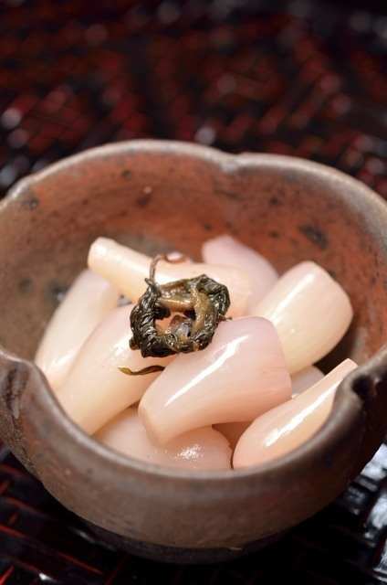 Japanese Pickled Baby Onion | Rakkyo