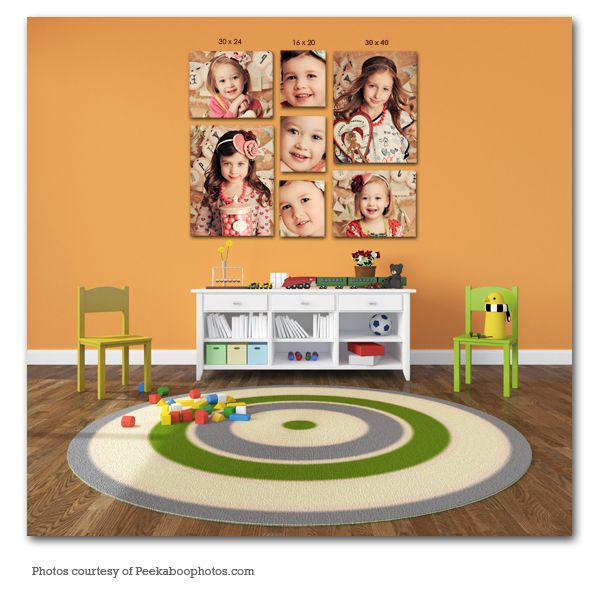 17 best images about wall display ideas on pinterest - Photo wall display template ...