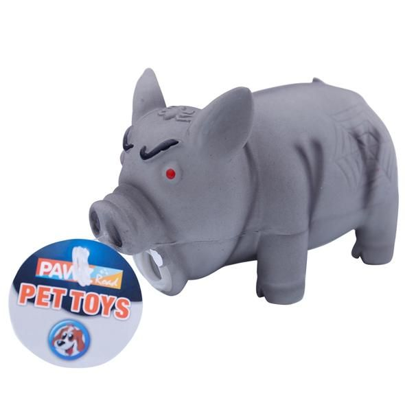 Dog Toy Squeak Rubber Funny Pig Toy