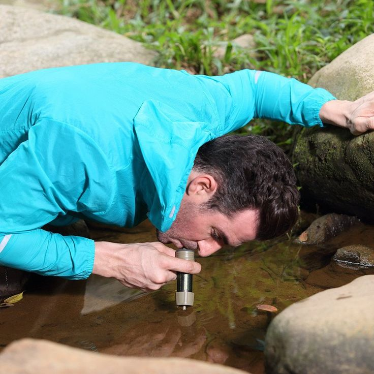 Personal Water Filter Good For Travel & Backpacking