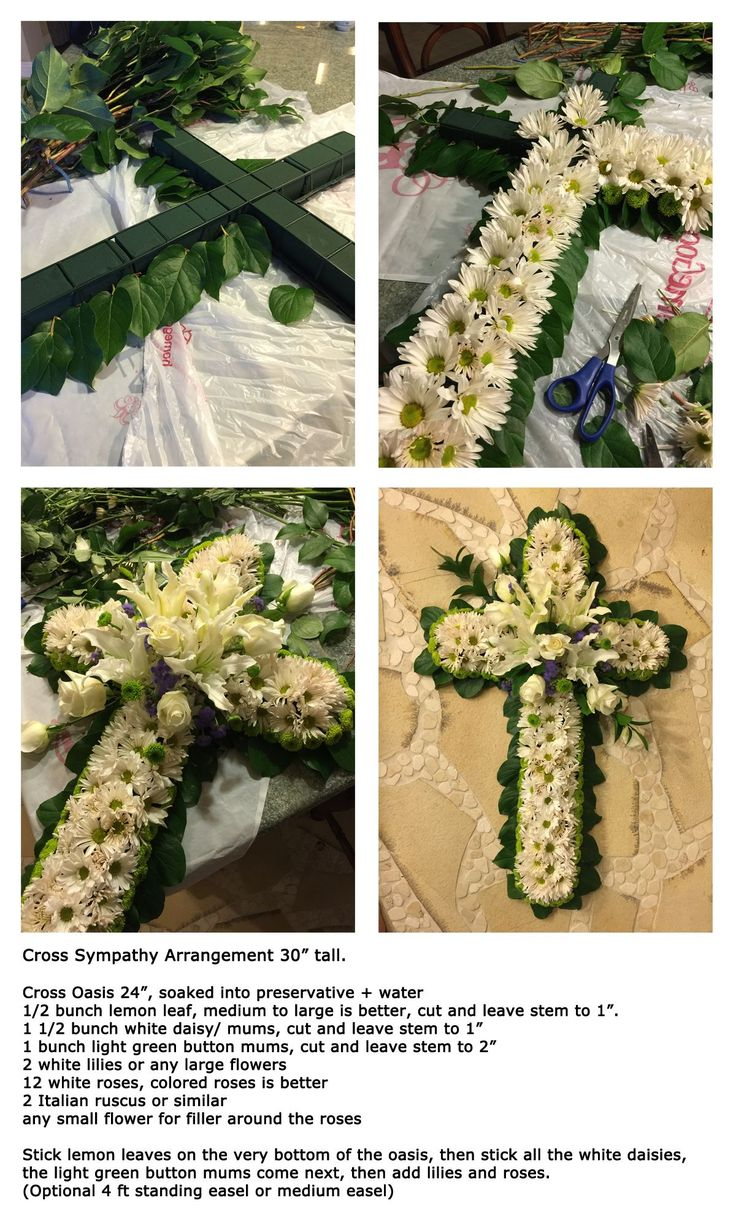 121 Best Funeral Ideas Images On Pinterest Funeral Flowers Crowns