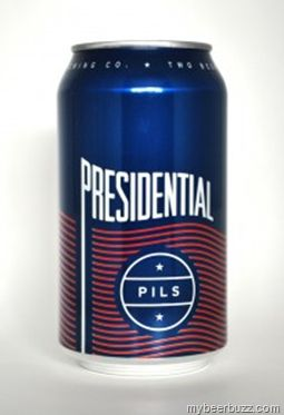 Two Beers Brewing Releases Limited Presidential Pilsner Cans