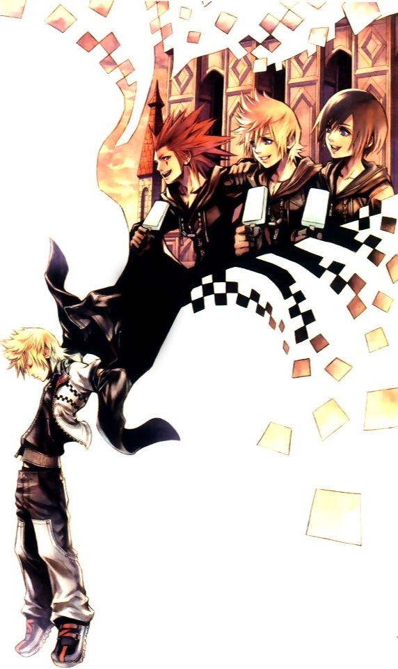 Kingdom Hearts - I literally cried my eyes out at the end of this game... (358/2 days official game art)