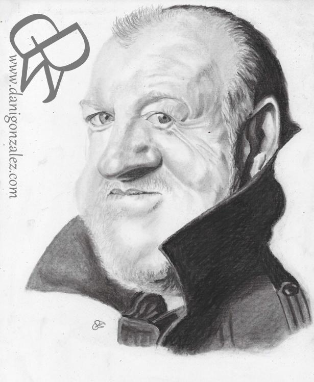 #JOE #COCKER #pencil and #charcoal #caricature