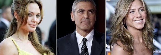 Angelina Jolie massaggiatrice, George Clooney assicuratore. I mestieri dei vip prima del cinema