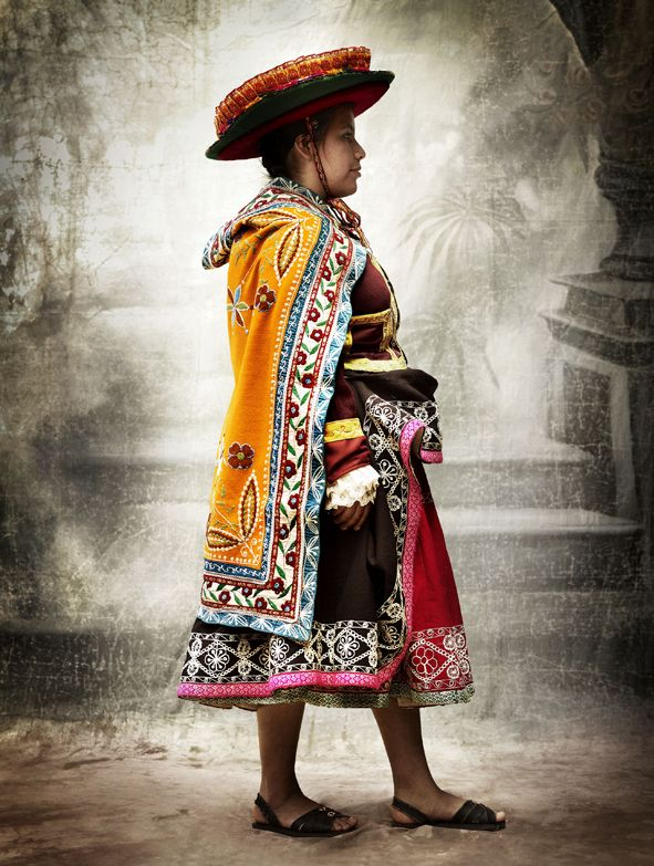 Peruvian Embroidery; Cusco, Peru~Photo series (2007 - 2012) © Mario Testino