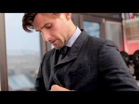 I think I'm blushing! This guy... damn! ▶ The Way I Dress: Mr Johannes Huebl - MR PORTER - YouTube