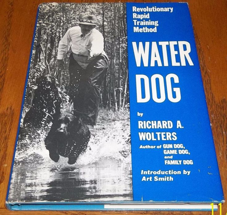 Water Dog Revolutionary Rapid Training Method By Richard A