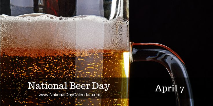 Image result for april 7 national beer day